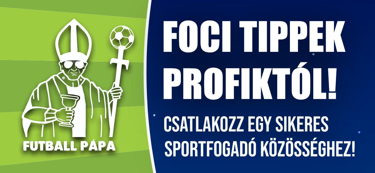 Futball Pápa- Foci tippek profiktól - Sportfogadás