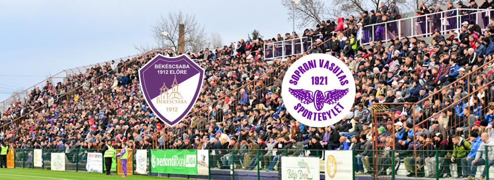 Békéscsaba 1912 Előre - Swietelsky-Soproni VSE