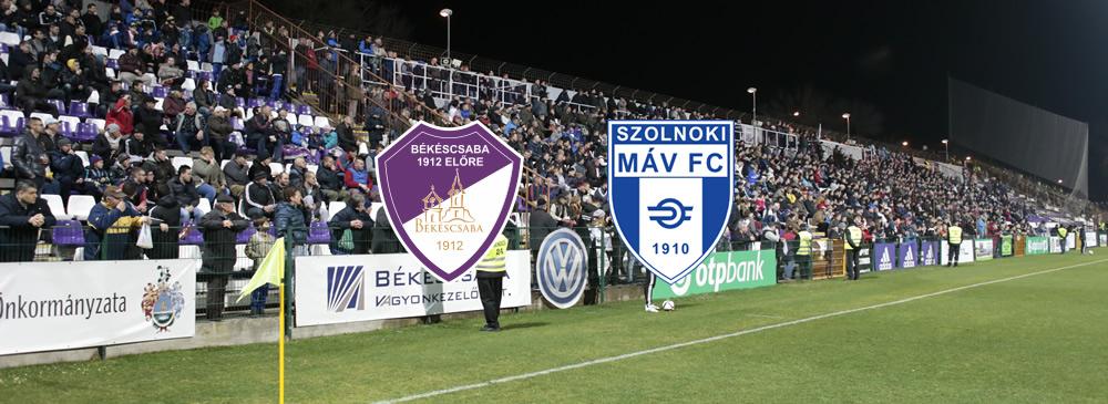 Békéscsaba 1912 Előre - Szolnoki MÁV FC