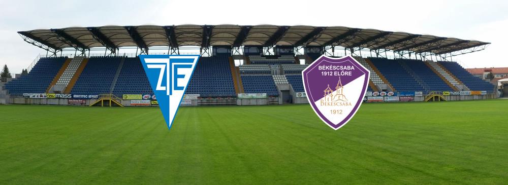 ZTE FC – Békéscsaba 1912 Előre