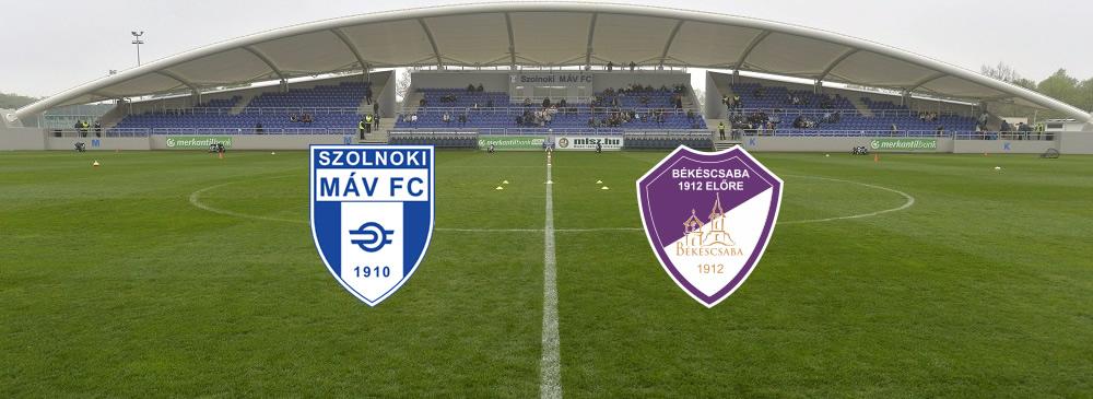Szolnoki MÁV FC – Békéscsaba 1912 Előre