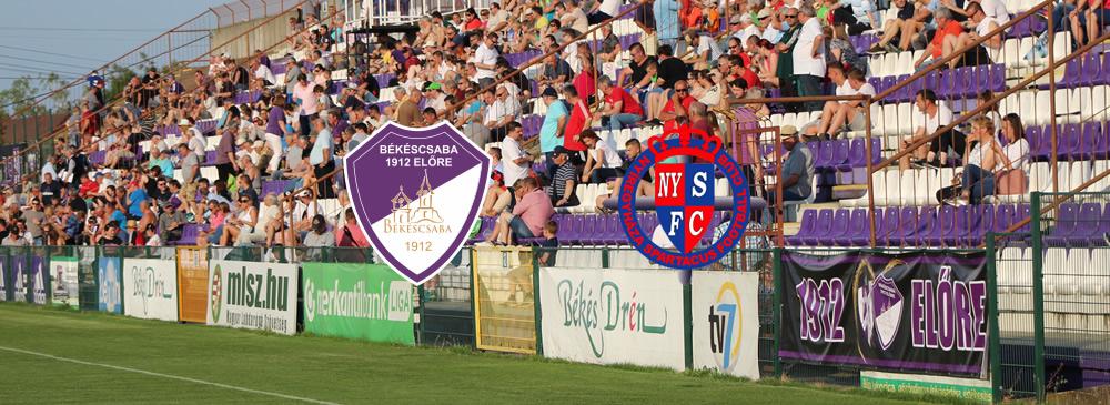 Békéscsaba 1912 Előre – Nyíregyháza Spartacus FC