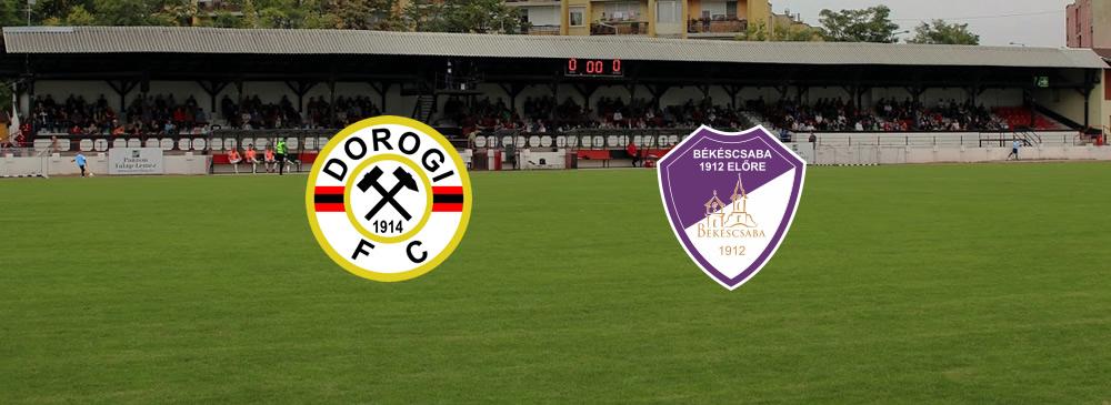 Dorogi FC – Békéscsaba 1912 Előre
